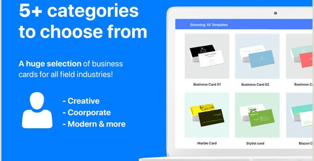 Professional Bussiness Cards business Card Maker Templates