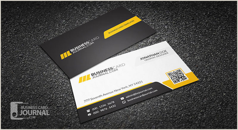 Professional Looking Business Cards 20 Professional Business Card Design Templates For Free