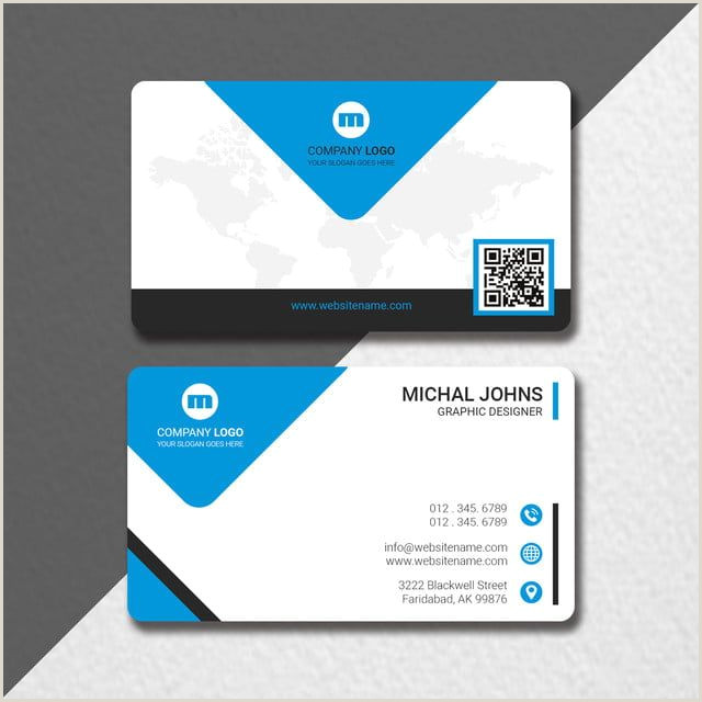Professional Looking Business Cards Free Mockups Business Card