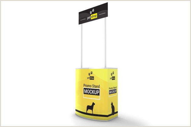 Promo Banner Stands 150 Promo Stand Mockup