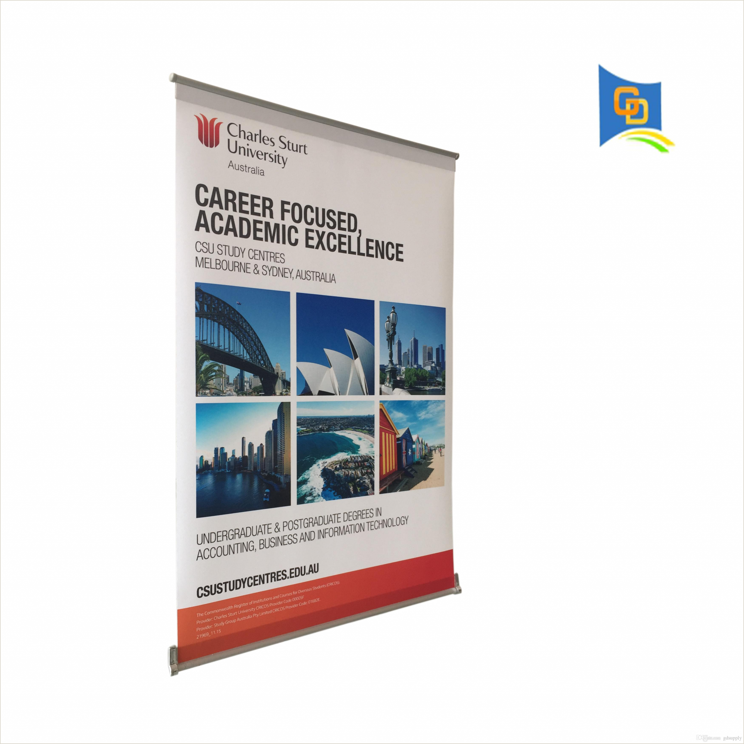 Promo Banner Stands 2020 Mini L Banner Desktop A3 Size Display Stand For Meeting From Gdsupply $5 64