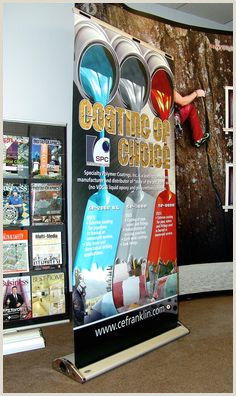 Promo Banner Stands 30 Best Projects & Ideas Banner Stands Images