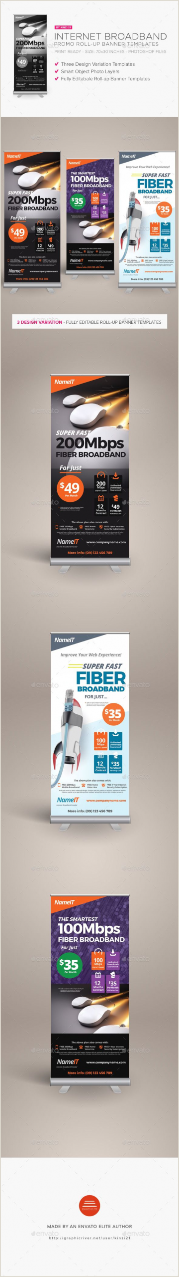 Promo Banner Stands Rollup Banner Templates Stylish Graphics