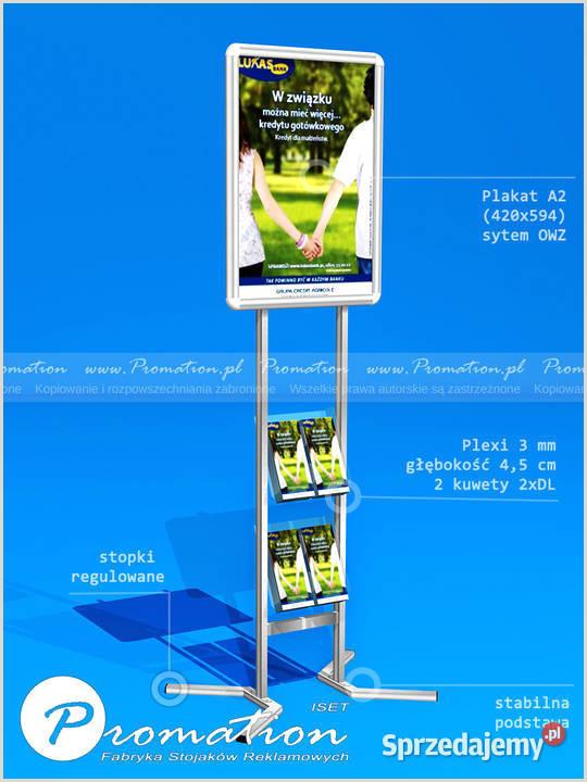 Promo Banner Stands Stand Reklamowy Na Ulotki Dl Stojak Promocyjny