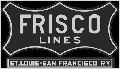 Pull Down Posters St Louis–san Francisco Railway