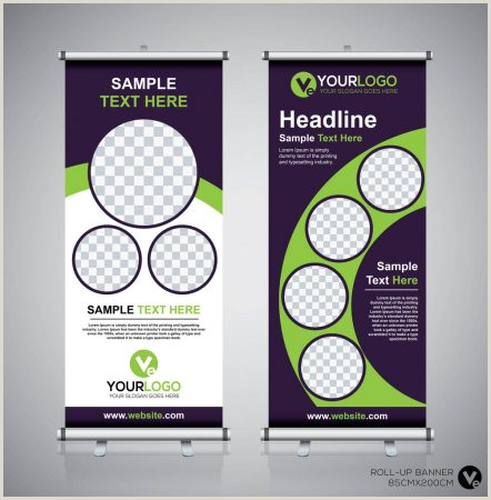 Pull Out Banners ᐈ Pull Up Banner Designs Stock Vectors Royalty Free