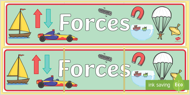 Pull Out Banners Free Forces Display Banner Teacher Made