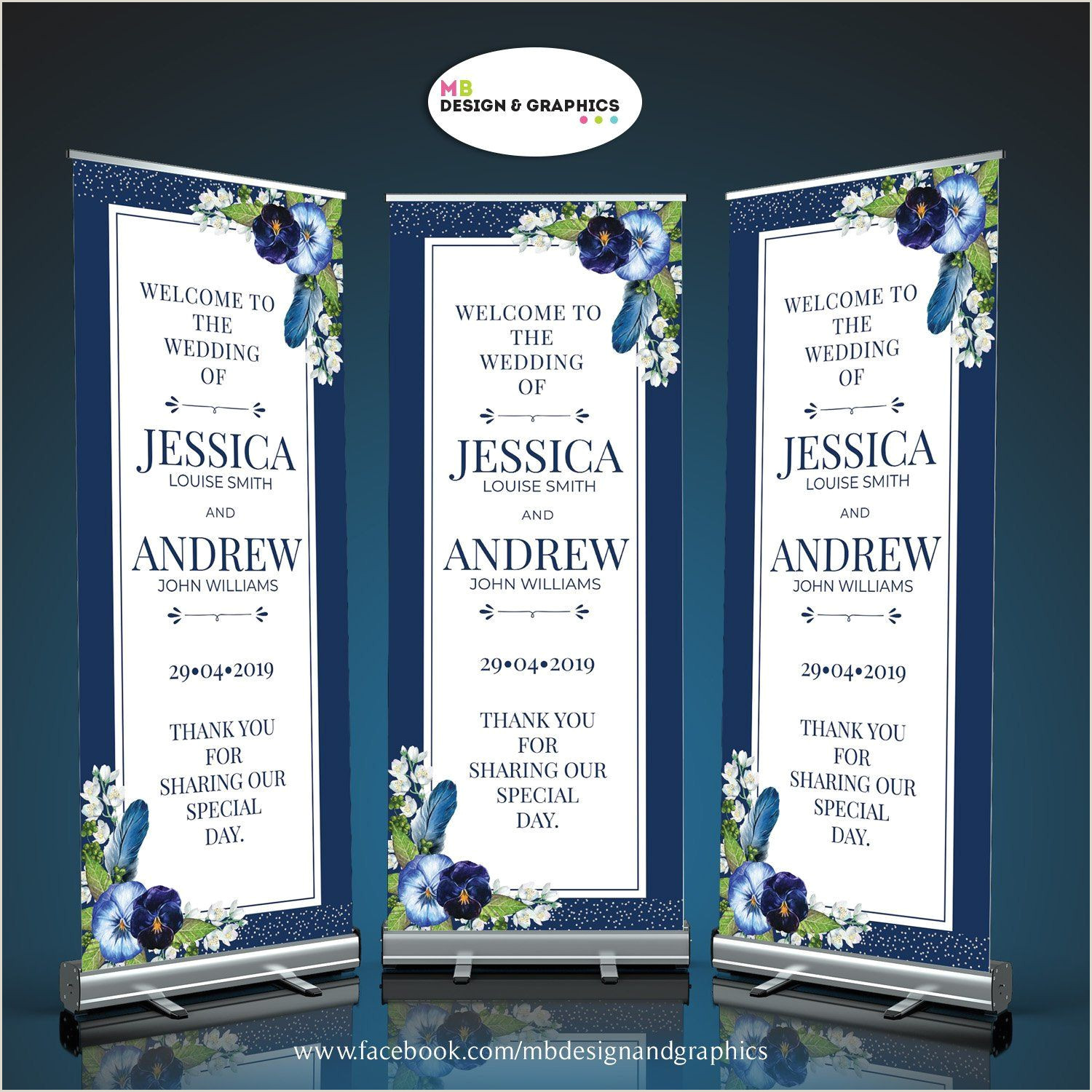 Pull Out Banners Wedding Roller Banners Roller Banners Pull Up Banner