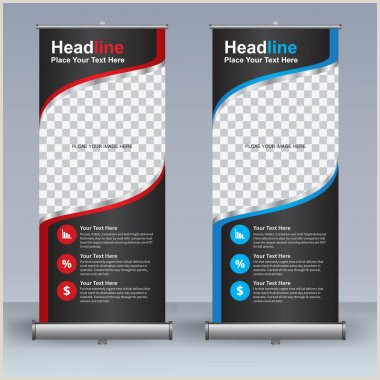 Pull Up Banner ✅ Pull Up Banner Premium Vector For Mercial Use
