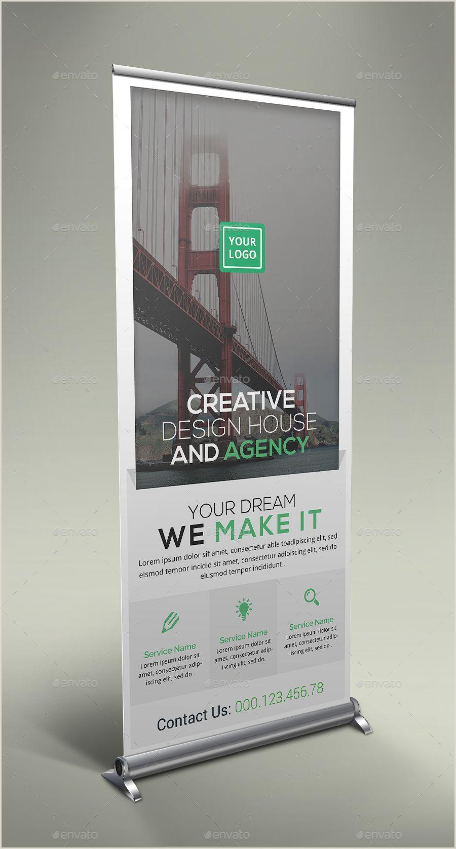 Pull Up Banner Design Unternehmens Roll Up Banner Bundle Roll Corporate