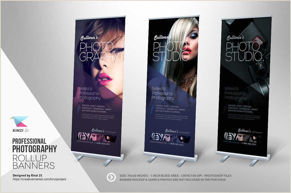 Pull Up Banner Dimensions Template 13 Graphy Banner Designs Psd Ai Eps Vector