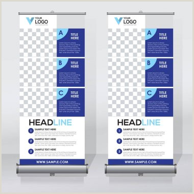 Pull Up Banner Dimensions Template ✅ Pull Up Banner Premium Vector For Mercial Use