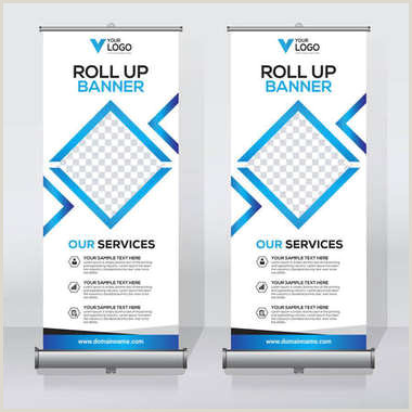 Pull Up Banner Printing ✅ Pull Up Banner Premium Vector For Mercial Use