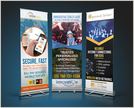 Pull Up Banner Printing Pull Up Roll Up Print Banner Design With Unlimited