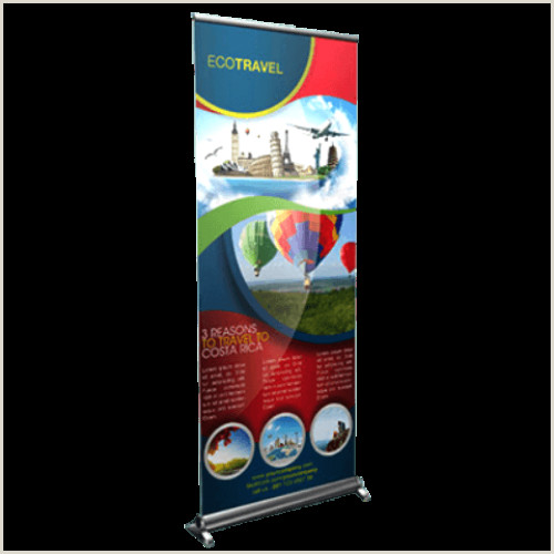 Pull Up Banner Printing Roll Up Banner