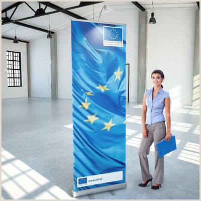 Pull Up Banner Roll Ups Und Rollup Banner Inkl Druck Ab 19 € Bei Konorg