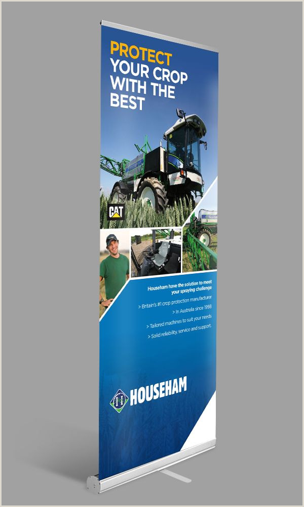 Pull Up Banner Stands Direct Heading Strong Imagery Vibrant Colours Strong
