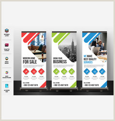 Pull Up Banner Stands Pull Up Banner Vector Over 870