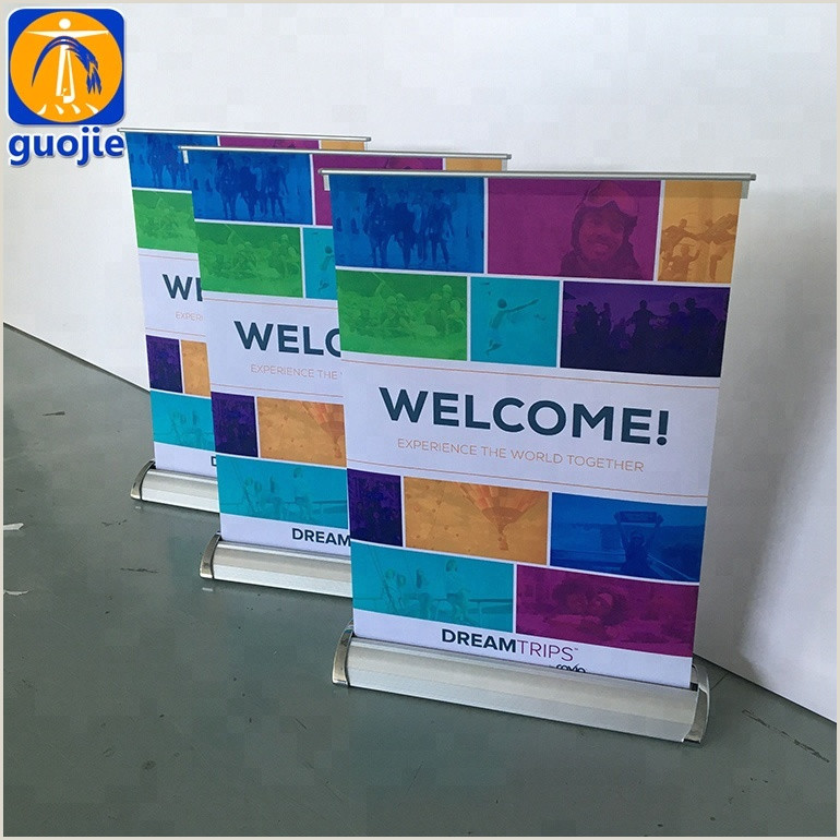 Pull Up Banners Dimensions Economic A3 Size Pull Up Banner Advertising Mini Roll Up Banner