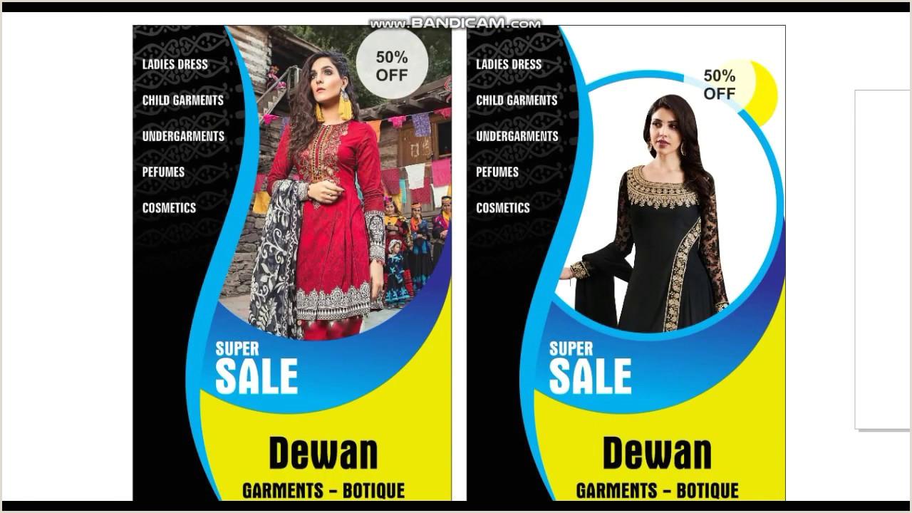 Pull Up Banners Vistaprint La S Garment Banner Design World Apparel Store