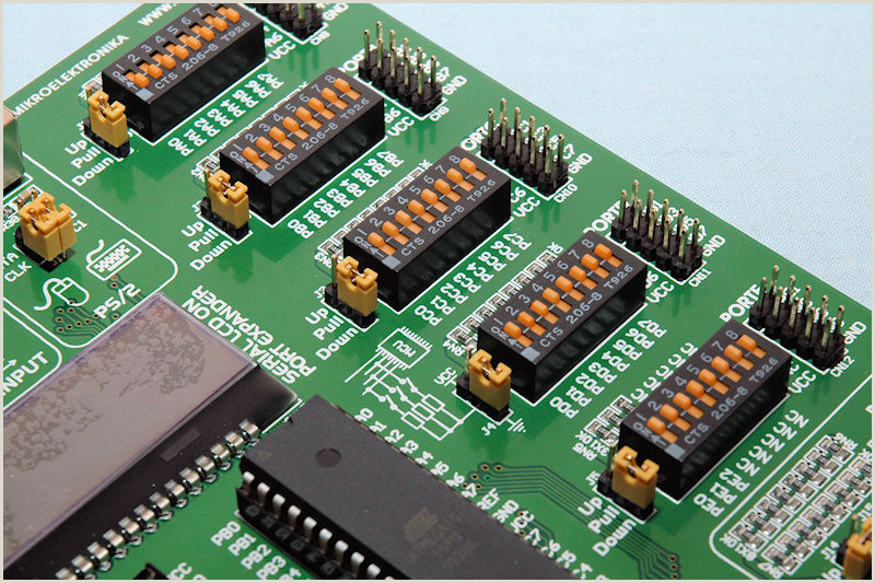 Pull Up Boards Mikroelektronika Easyavr6 Swemod
