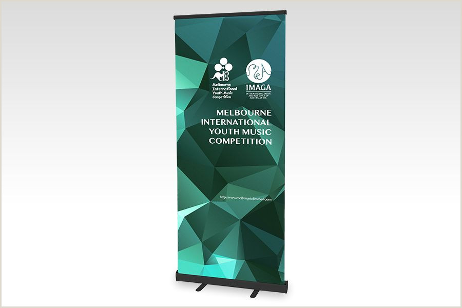 Pull Up Design Premium Pull Up Banners