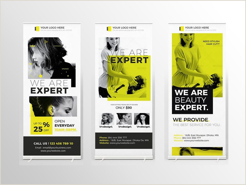 Pull Up Design Roll Up Banner
