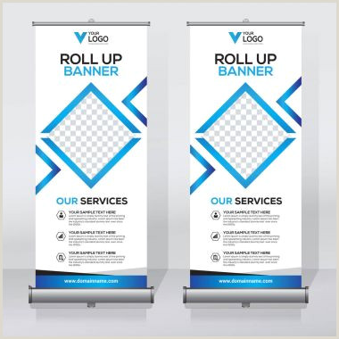 Pull Up Display Banner ✅ Pull Up Banner Premium Vector For Mercial Use