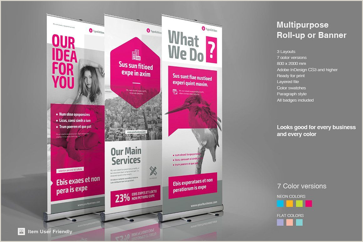 Pull Up Marketing Banners Roll Up Banner Design