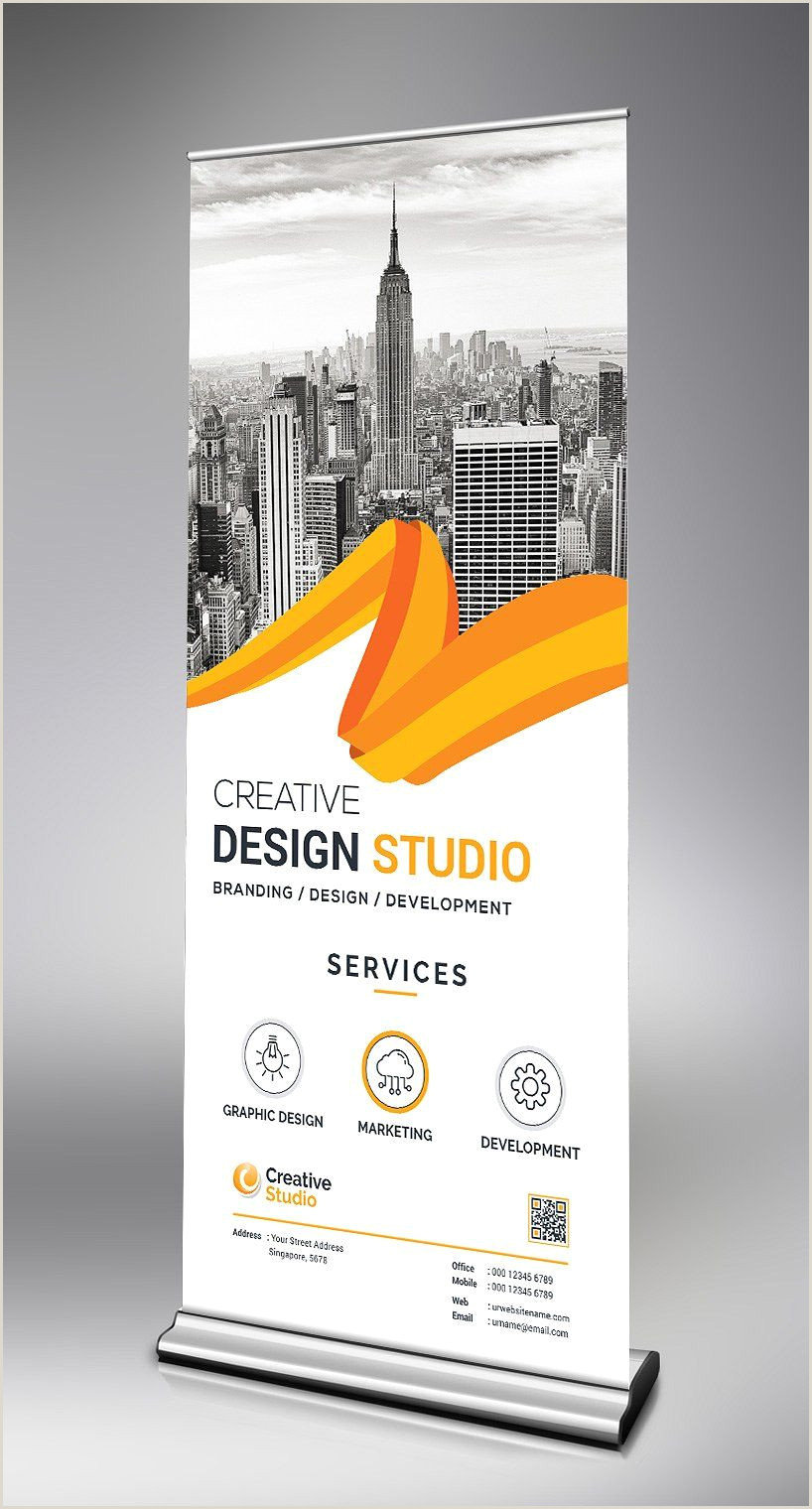 Pull Up Marketing Banners Roll Up Banner