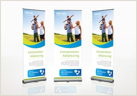 Pull Up Marketing Banners Roll Up Banner Template Template Stock By Pixlr