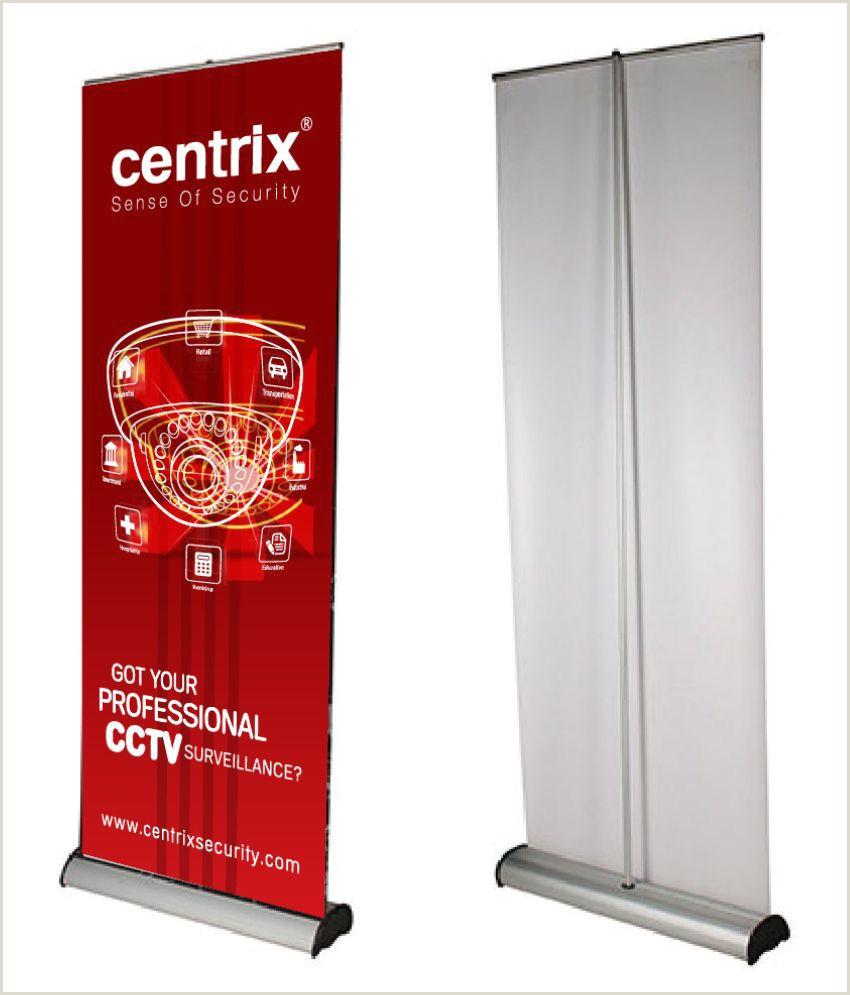 Pull Up Marketing Banners Roll Up Standee Jmd Enterprises Aluminium Retractable