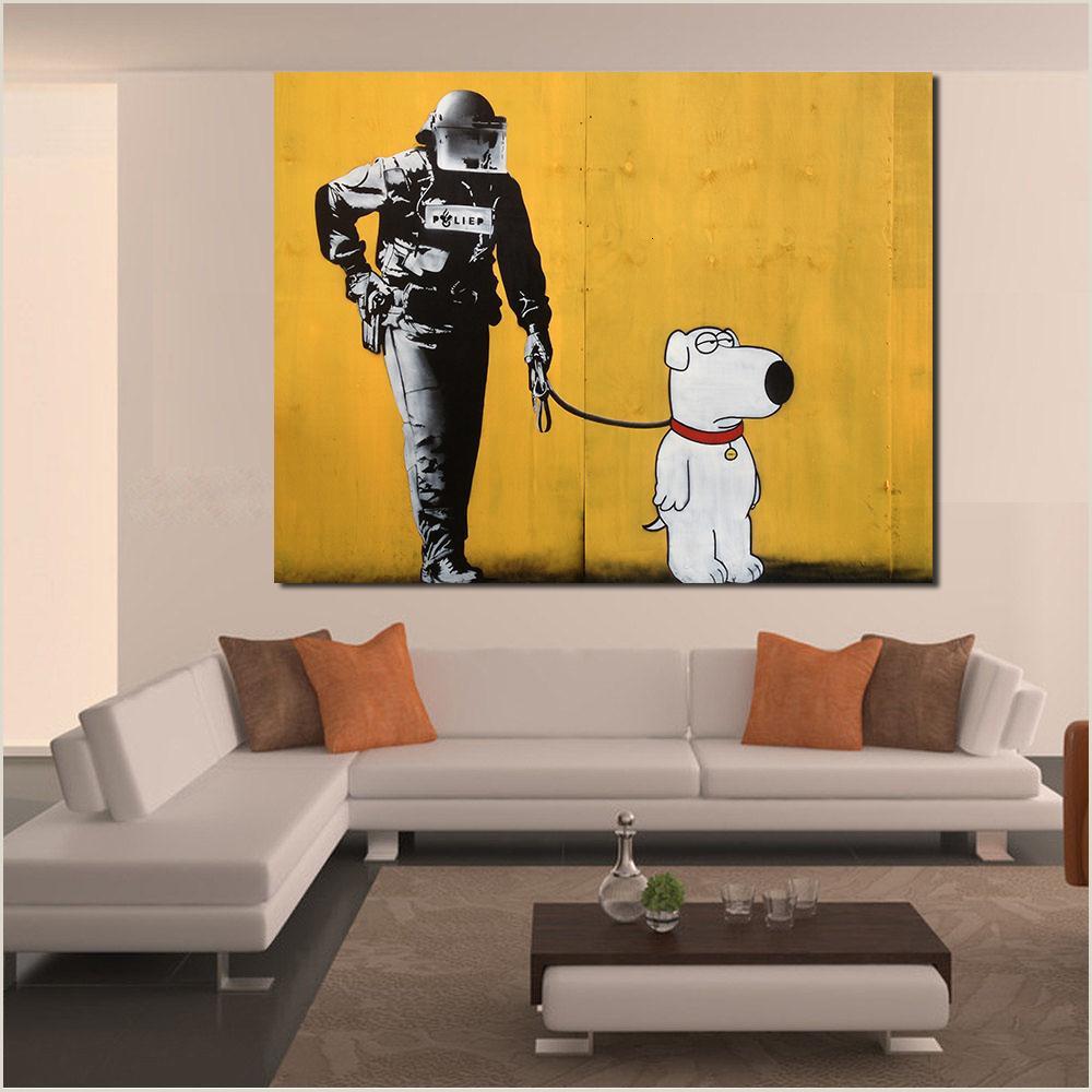 "Pull Up Poster Pre Jqhyart Arte Pop Decoraci³n De La Pared Cartel En La Pared Imágenes De La Pintura Brian ""leo De La Lona Para La Sala Sh No Frame A 7 9 €"