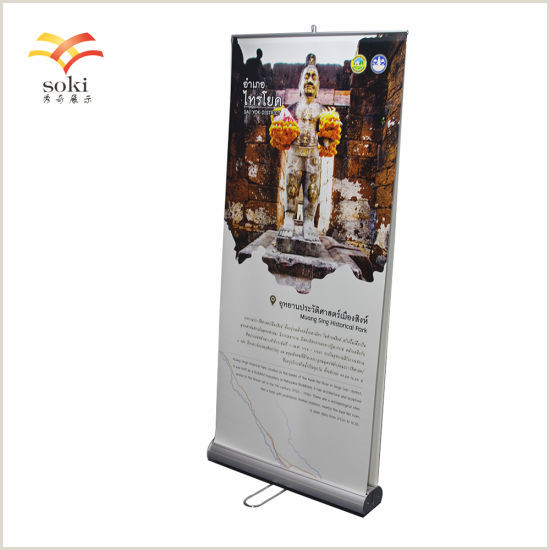 Pull Up Signage China Sign & Display Advertising Display Standard Double