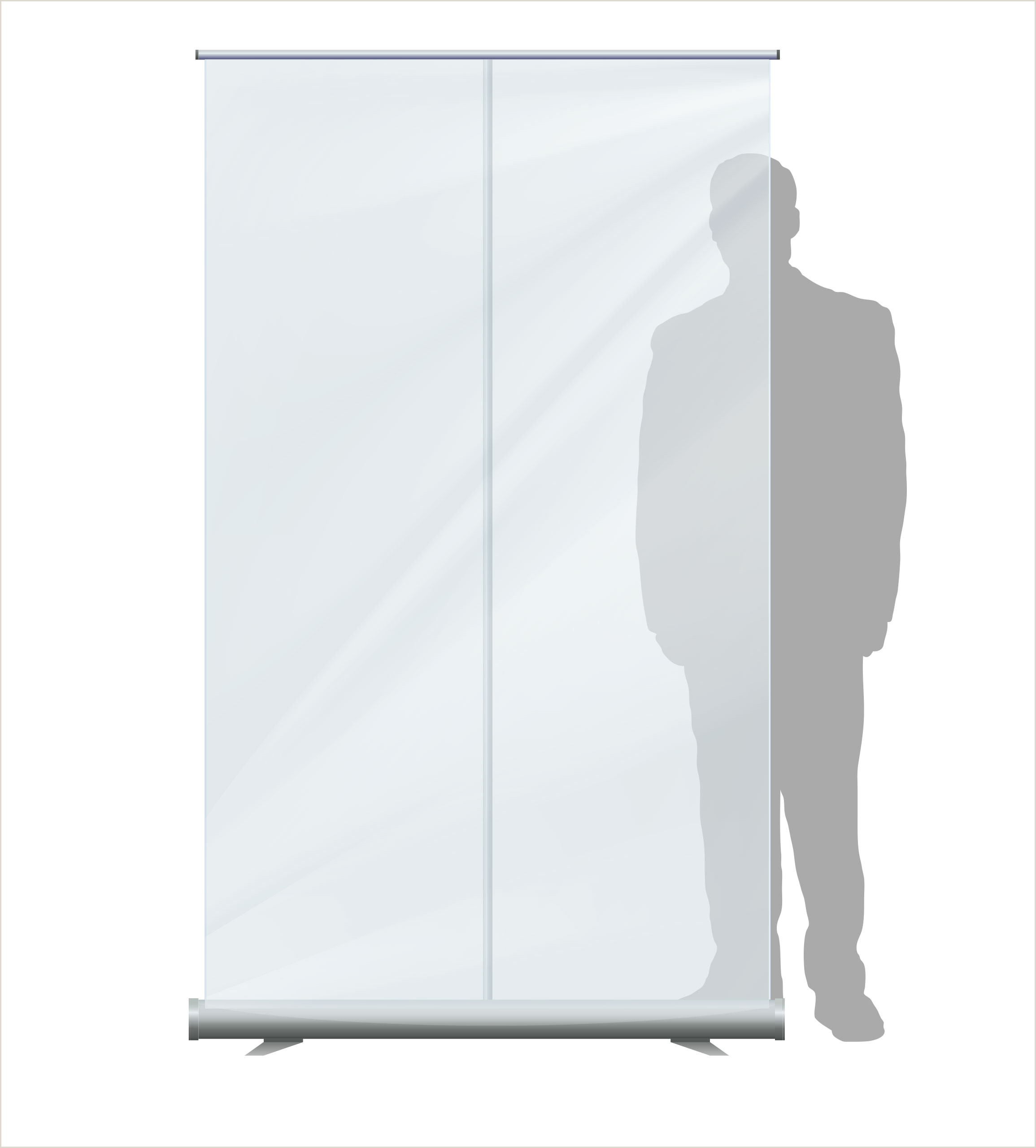 Pull Up Signage Transparent Pull Up Banner