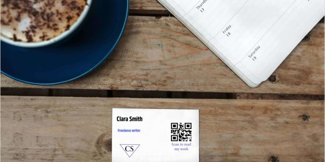 Purpose Of Business Card Qr Codes On Your Business Card and Its Advantages
