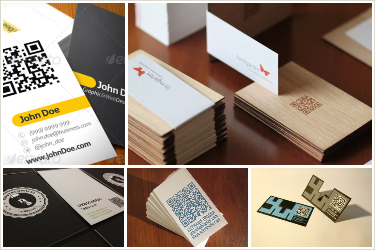 Qr Code Business Card With A Twist 25 Impressive Examples Of Qr Code Business Cards