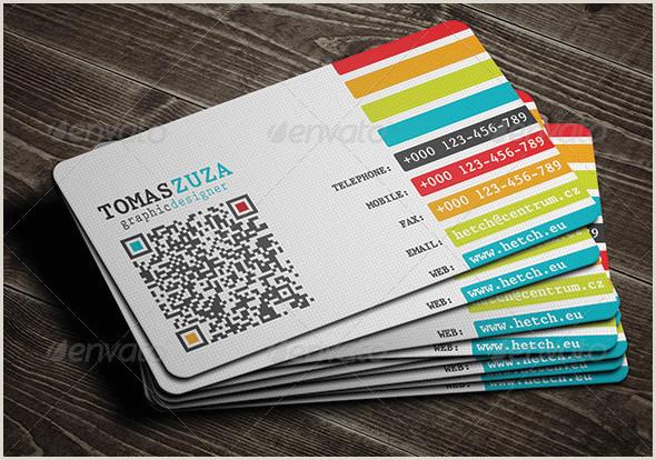 Qr Code Business Card With A Twist 25 Qr Code Business Card Templates – Bashooka