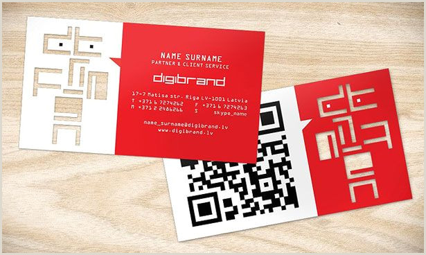 Qr Code Business Card With A Twist 30 Creative Qr Code Business Cards Webdesigner Depot