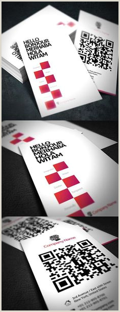 Qr Code Business Card With A Twist Qr Code Business Cards