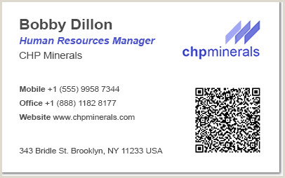 Qr Code On Business Card Good Or Bad Using Qr Codes On Business Cards