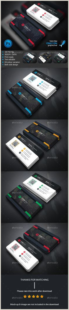 Rate Best Business Cards 20 Best Top Amazing And Professional Business Card