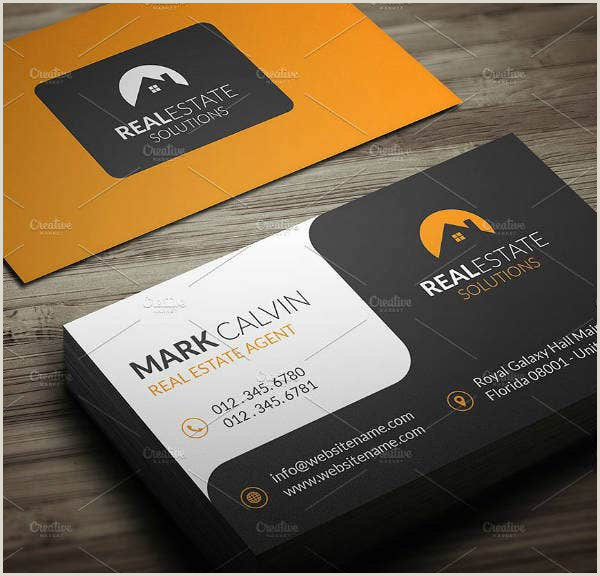 Real Estate Business Card Ideas 25 Free Real Estate Business Card Templates Indesign Ms