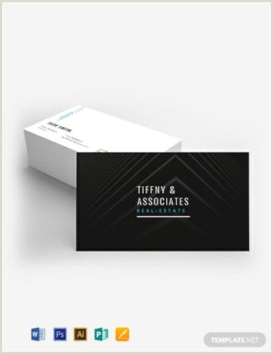 Real Estate Business Cards Examples 13 Free Real Estate Business Card Templates Ai Psd Word
