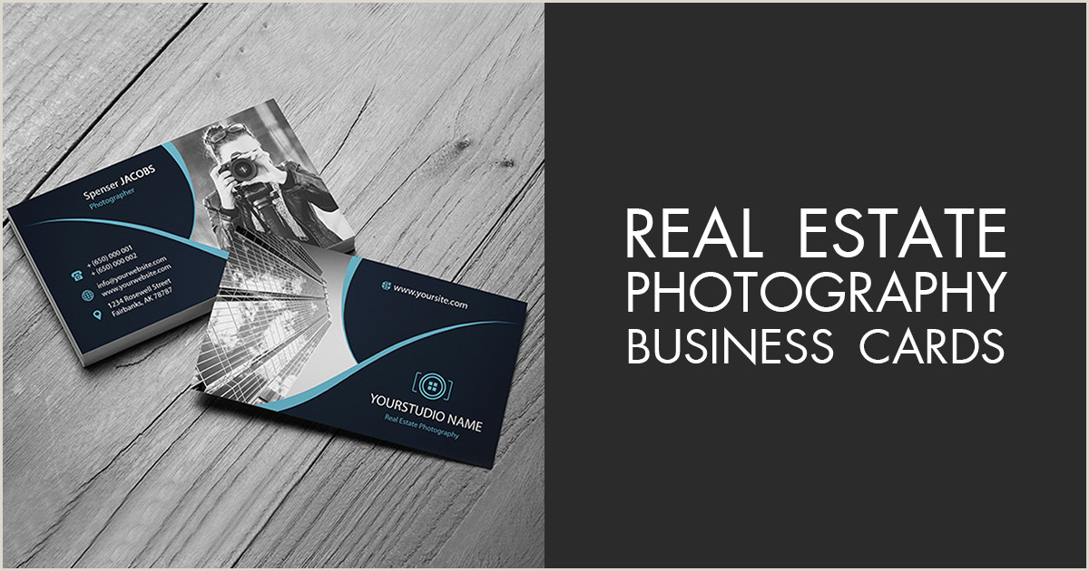 Real Estate Business Cards Examples Real Estate Photography Business Cards 20 Free Designs