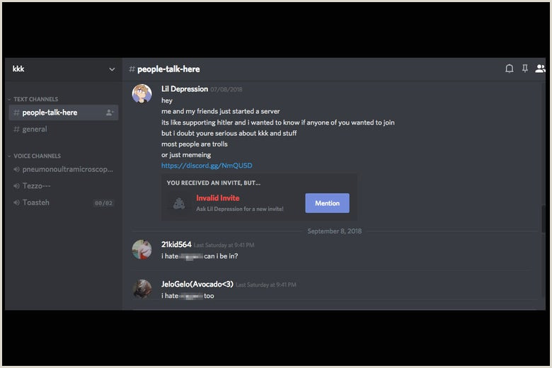 Recruiting Banner Ideas Discord Is A Safe Space For White Supremacists