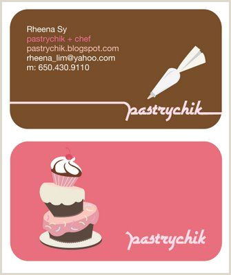 Retail Business Cards Bakery Business Cards 20 Examples Of Pastry Shop Business