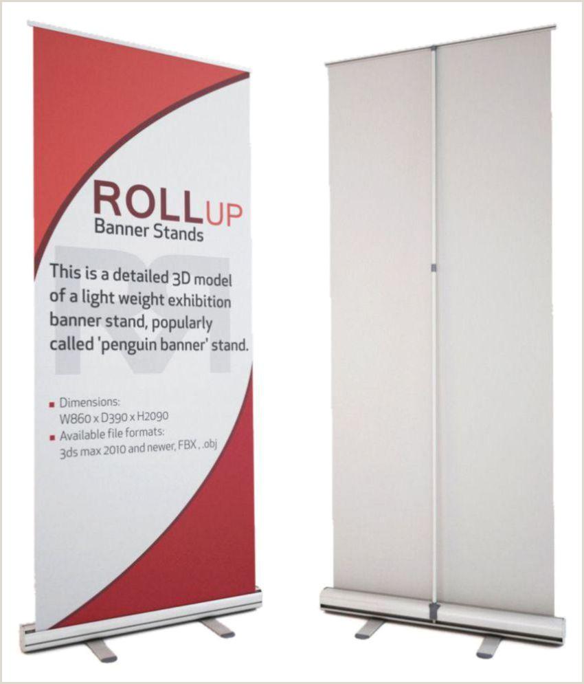 Retractable Banner Design Aluminium Roll Up Standee
