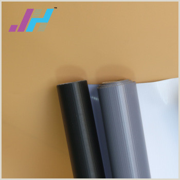 Retractable Banner Design Eco Solvent Printing 380gsm Pvc Grey Back Flex Coated Banner View Blockout Banner Rolls J & H Pinting Media Product Details From Shanghai Janehong