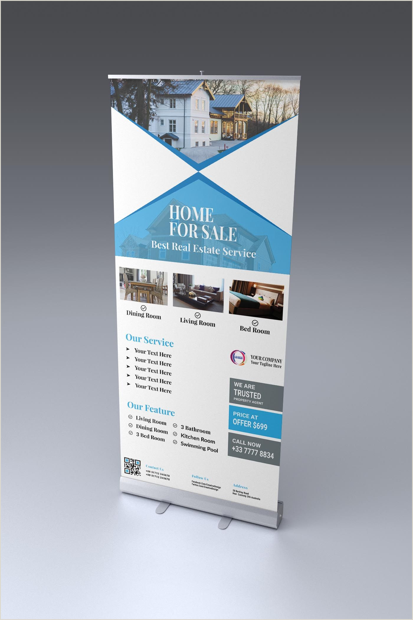 Retractable Banner Design Looking For A Roll Up Banner Design The Image